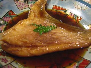 20120606 エイひれ煮付け.jpg